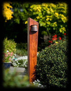 Temple Garden Outdoor Lighting Pacific Series Wood Pacific Edge Unlike Any  Other Wooden Outdoor Light This